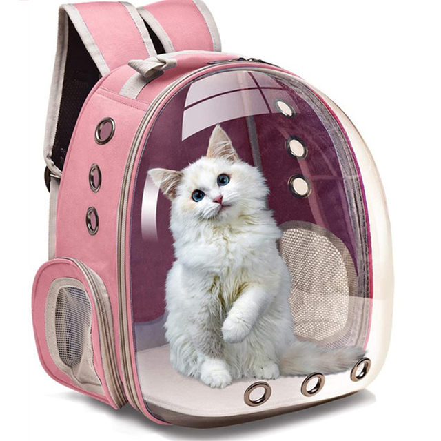 Portable Breathable Cozy Backpack Pet Carrier  1