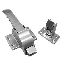 Oven /Cold Storage Door Lock Handle Latch Industrial Stainless Steel Door Handle Lock