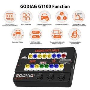 Image 3 - GT100 Auto Gereedschap Obd Ii Break Out Box Ecu Connector