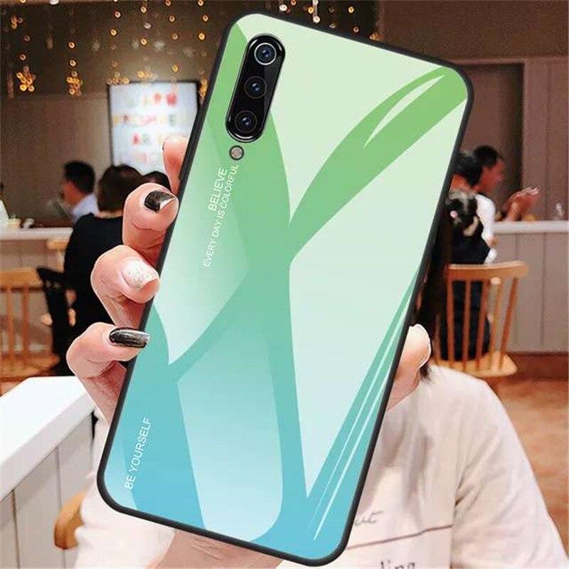 Étui de téléphone dégradé de luxe pour Xiaomi Redmi Note 8 9 Pro 9S 8T housse pour Xiaomi Mi 9T Pro 10 Lite Mi9T Note9 Pro Max étui brillant