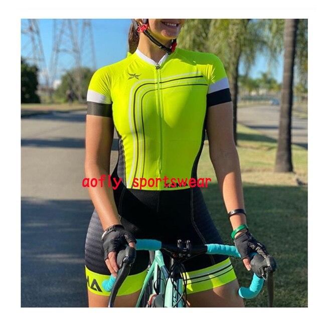 2020 xama pro feminino triathlon skinsuit bicicleta ciclismo conjuntos de jérsei macaquinho feminino roupas de bicicleta macacão gel almofada conjunto feminino ciclismo macaquinho ciclismo feminino  roupas com frete 2