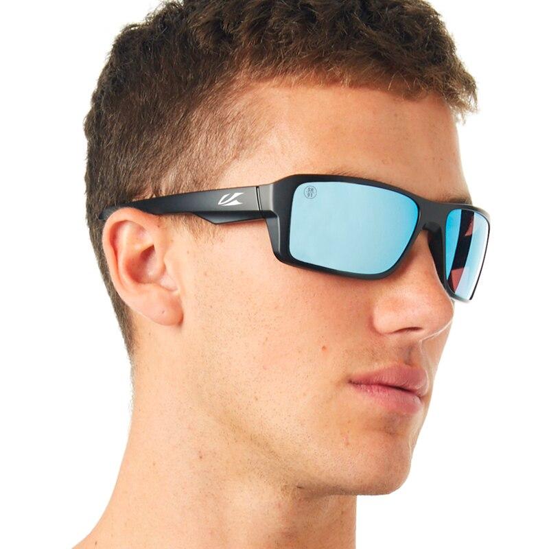 Kaonic nuovi occhiali da sole polarizzati montatura quadrata uomo lenti a specchio Design del marchio donna guida pesca occhiali da sole UV400 7 colori 2