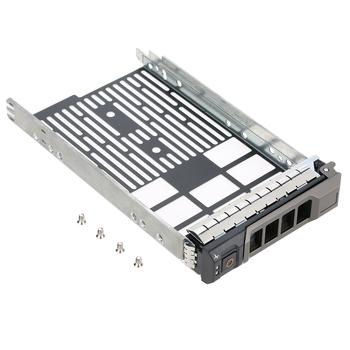 Hdd caddy 3 5 #8222 OF238F SAS taca dysku twardego SATA stojak na serwer Dell PowerEdge serwery serii R amp T i obudowy PowerVault tanie i dobre opinie Arealer Other C3830