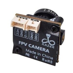 Image 5 - Foxeer Razer מיקרו HD 5MP 1.8mm M8 1200TVL 4:3/16:9 NTSC/PAL להחלפה עם OSD 4.5 25V טבעי תמונה FPV מירוץ Drone