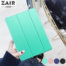 цена flip case for Apple ipad Air 9.7 cover Smart Sleep wake funda Tablet Trifold Stand skin card capa bag for Air1 A1474 A1475 A1476 онлайн в 2017 году