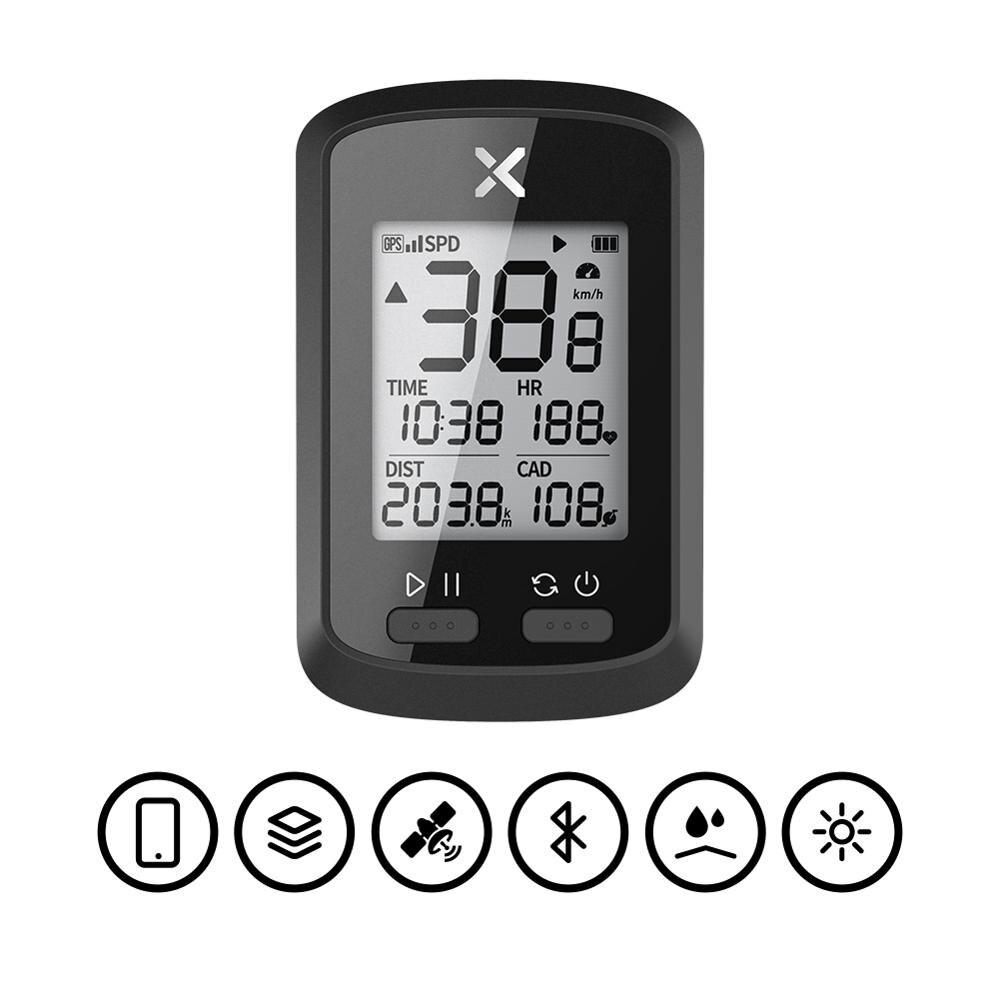 Ordinateur de vélo sans fil GPS compteur de vitesse étanche vélo de route vtt vélo Bluetooth ANT + avec Cadence ordinateurs de cyclisme