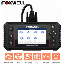 FOXWELL NT614 Elite OBD OBD2 Scanner Four System EPB Oil Service Reset OBDII Automotive Scanner Professional Car Diagnostic Tool(China)