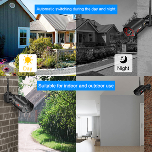 Image 4 - ANRAN Wireless Security Camera System NVR Kit 1080P HD Outdoor IP Camera Waterproof Wifi Surveillance CCTV Camera System APP
