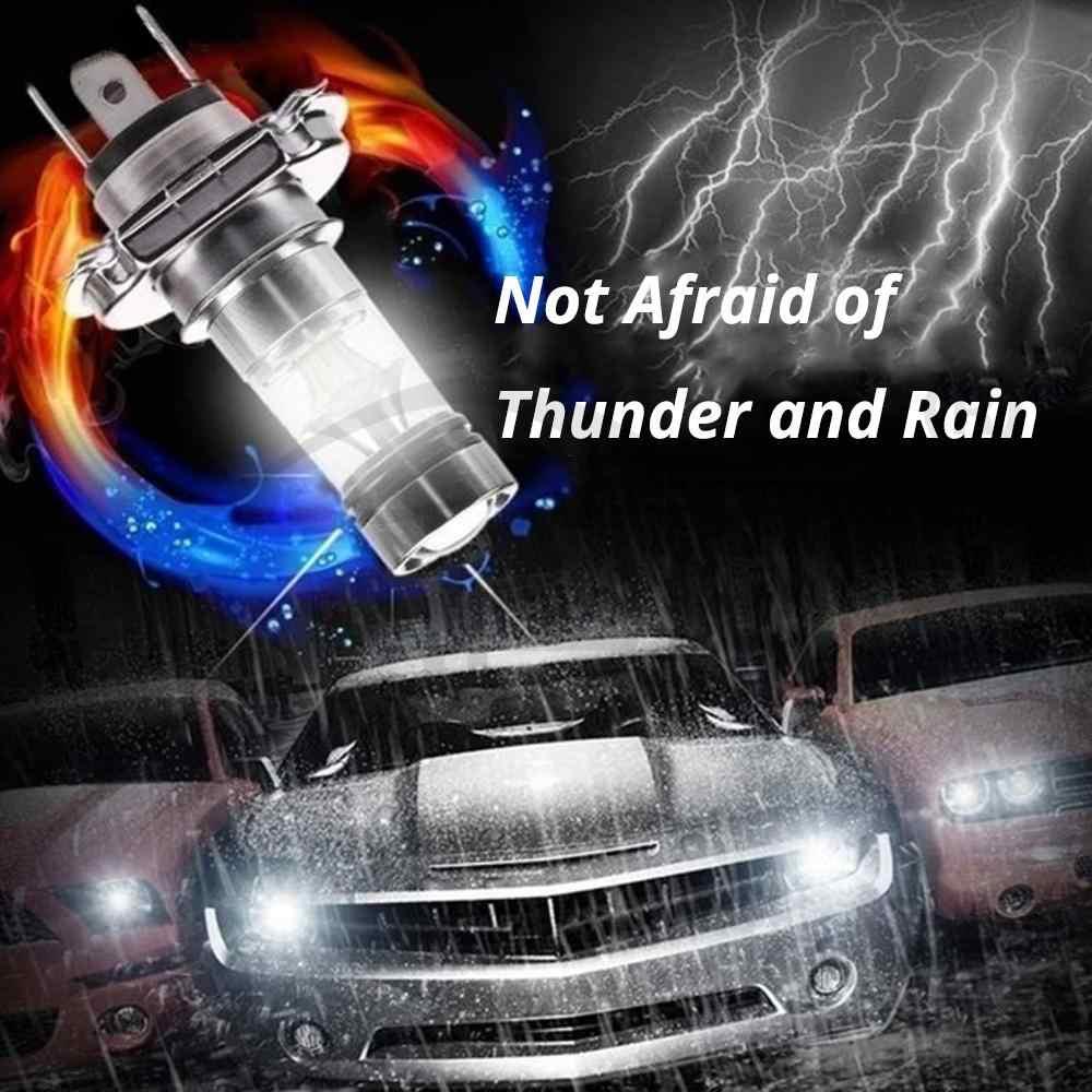1 Stuks Mistlamp 100W Led Auto H4 H7 8000K Koplamp Wit Licht Super Heldere Mist Lamp plug En Play Fog Lamp Direct Replaceme