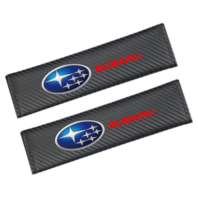 Para Subaru Impreza Forester Tribeca 15 BRZ nueva llegada cubierta de protección de fibra de carbono 2 uds