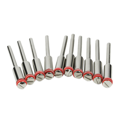 Hot 10 sztuk/zestaw 3.0Mm uchwyt/śruba stalowa trzpień Shank Cutter Off uchwyt obrotowy akcesoria narzędzia|Maszyny EDM|Narzędzia -