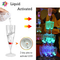 6 шт.  светодиодные бокалы для шампанского  бокалы с водной жидкостью  мигающие светящиеся чашки для бара-клуба  рождественской вечеринки  св...