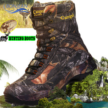 цены BONJEAN Hiking Shoes Professional Waterproof Hiking Boots breathable Travel Shoes Outdoor Mountain Climbing Hunting Boots