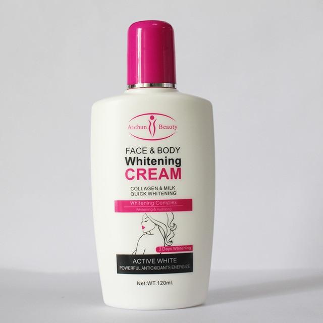 Collagen milk bleaching face body