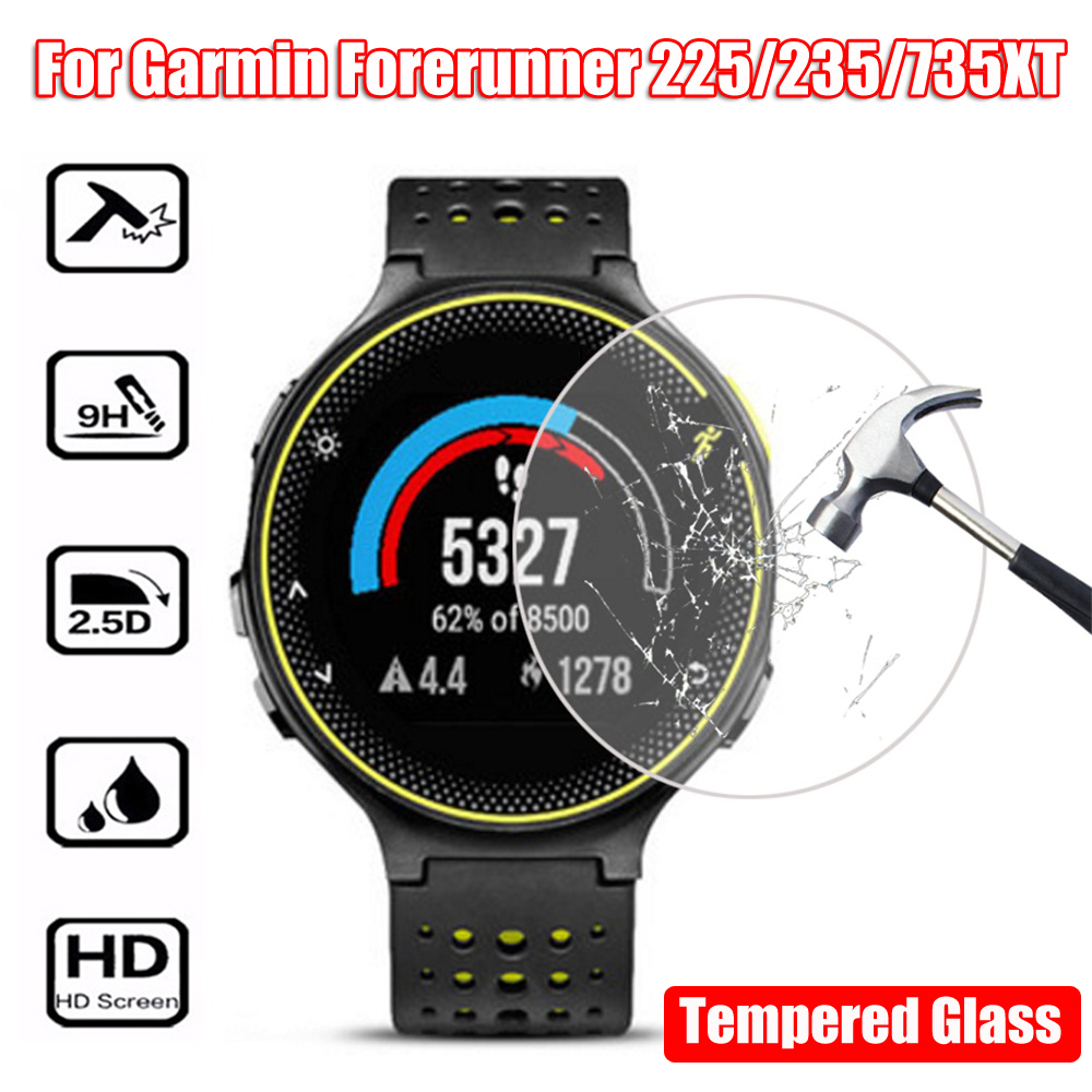 Fashion Premium Tempered Glass Screen Protectors Protective Film For Garmin Forerunner 235 225 735XT High Quality New Arrival