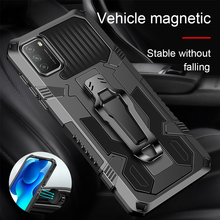 Shockproof Anti Fall Heavy Protection Mech Warrior Bring Bracket Phone Case For Xiaomi Poco X3 Pro Poxo Poko F3 M3 X 3 Nfc Cover