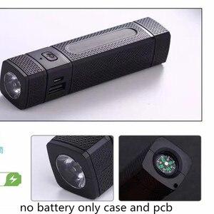 Image 1 - Güç bankası DIY 1 ile 18650 pil kutusu LED el feneri pusula USB şarj aleti için akıllı telefon USB araçlar