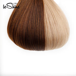 Hair-Extensions Skin-Weft Tape Real-Remy PU Leshine 14''18'20