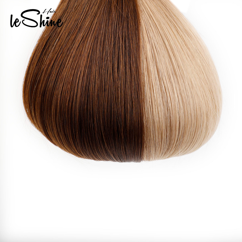 Leshine Real Remy Hair Extensions 100% Human Hair Extensions PU Skin Weft Hair Extensions 14''18'20 Hair Extensions Tape