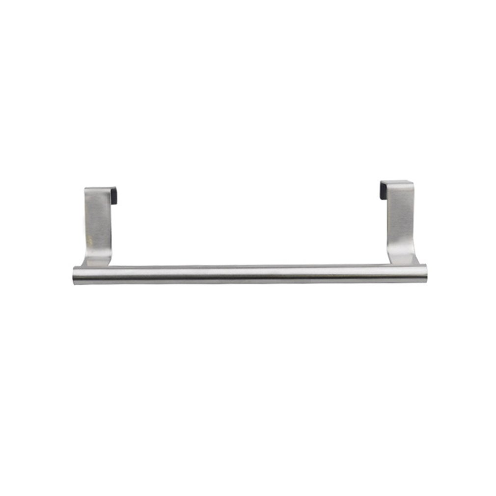 Stainless Steel Toilet Bathroom Washroom Towel Rack Holder Wall Mounted Space-saving For Daily Use Storage Holder