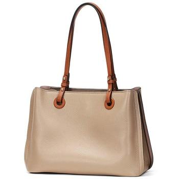 Genuine Leather Luxury Tote Bags Women's Shoulder Handbags