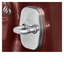 Lsrtw2017 Stainless Steel Asb Alloy Car Door Lock Buckle Cover for Peugeot 3008 4008 508L