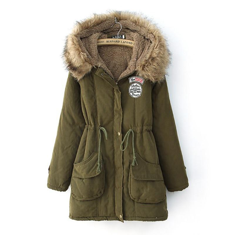 Parkas Female Women Winter Coat Thickening Cotton Winter Jacket Womens Outwear Parkas For Women Winter