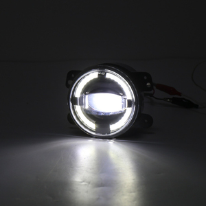 "Image 3 - 2X4 ""Zoll Runde LED Nebel Stoßstange Lichter Off Road Nebel Lampen für Jeep Wrangler JK Dodge Journey Magnum Ladegerät"