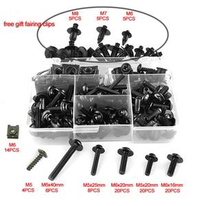 Image 5 - For BMW S1000R S1000RR HP4 R1200RS G310R S1000XR R1150R R1200R CNC Aluminum Complete Full Fairing Bolts Kit Screws Nuts Clips