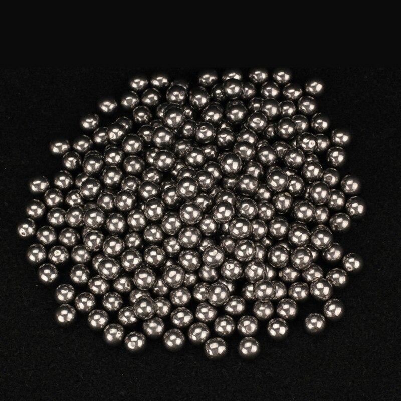 100 Pcs/Lot 6mm 7mm 8mm Steel Balls Slingshot Hunting High-carbon Steel Slingshot Balls Catapult Slingshot Outdoor Shooting Bow