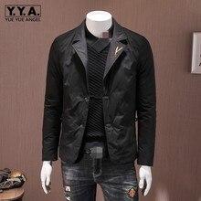 Down Jacket Men Brand Fashion Slim Warm Outerwear Winter Lon