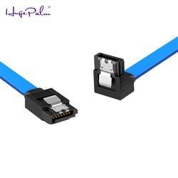 Кабель SATA 3,0 к жесткий диск SSD адаптер HDD кабель прямой 90 градусов Sata 3,0 кабель для Asus MSI Gigabyte материнская плата кабель Sata