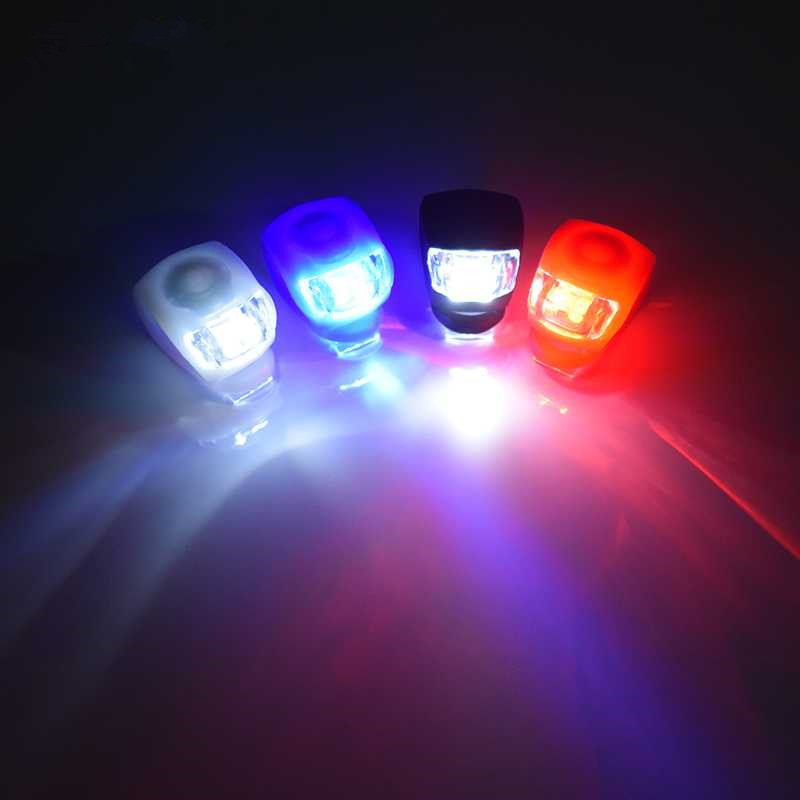 Купить с кэшбэком Bike Bicycle light LED Taillight Rear Tail Safety Warning Cycling Portable Light, USB Style Rechargeable or Battery Style