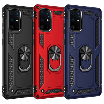 Armor Magnetic Case For Samsung Galaxy A51 A21s A20s A50 A70 A71 S20 S10 S9 S8 Note 9 8 10 Plus A32 A42 A52 A31 A20E Ring Cover 1