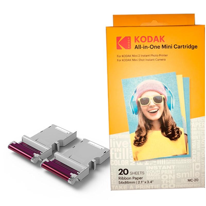 For Kodak C210 Mobile Photo Printer Dedicated Photo Paper Sublimation Photo Paper Ribbon 3 Inch