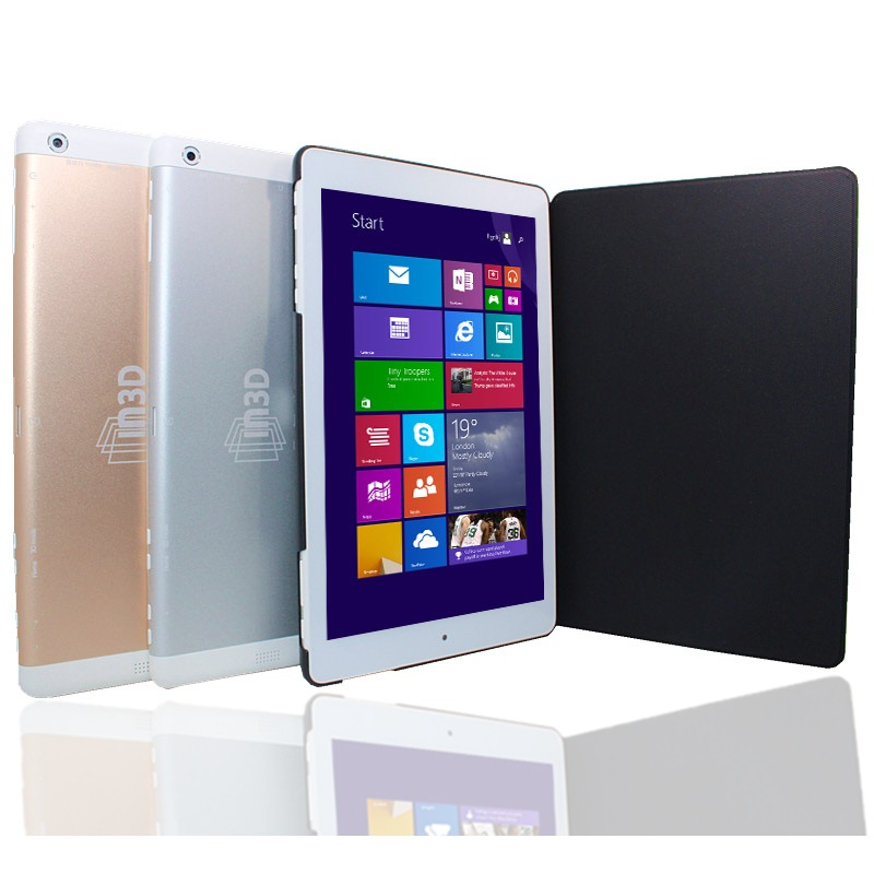 8.9inch Windows 10 Tablet PC 32GB ROM 2GB RAM 1920 X 1200 IPS With Flip Leather Case