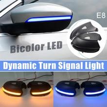 Luz LED de señal de giro dinámica, intermitente de agua corriente para Volkswagen VW Passat B7 CC Scirocco EOS Beetle 2011 2014
