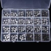 240 pçs/caixa 24 modelos micro conector usb soquete terminais jack conectores usb conjunto conector para mp3/4/5 lenovo zte huawei|Conectores| |  -