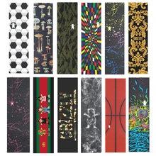 Grizzly cintas de agarre para monopatín, 9x33 pulgadas, para Penny Board, Skateboarding, papel de lija