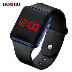 2019 Men Sport Waterproof Digital Watches Men's Army Military Silicone Wrist Watch Hodinky Ceasuri LED Clock Relogio Masculino(China)