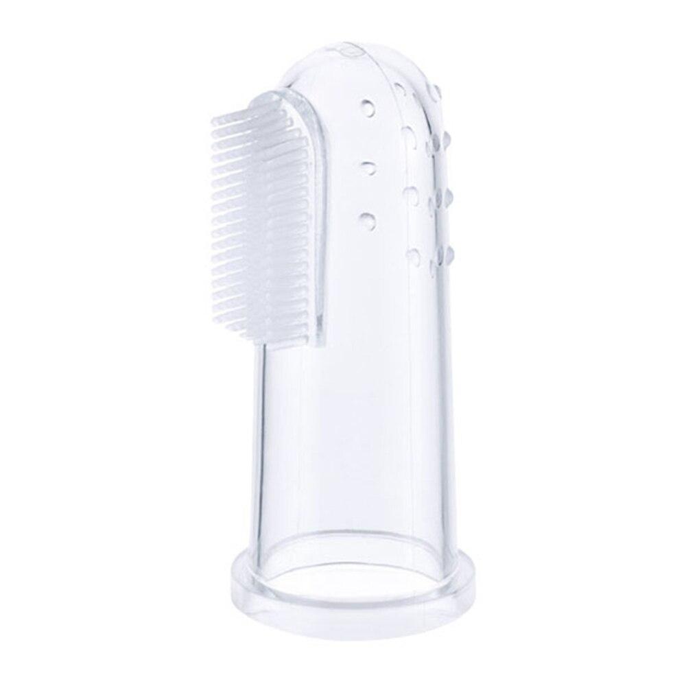 1pc New Hot Selling Super Soft Pet Finger Toothbrush Teddy Dog Brush Bad Breath Tartar Teeth