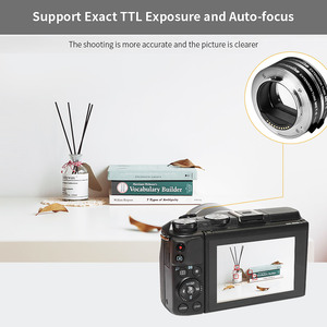 Image 5 - COMMLITE CM MET E Automatic Macro Extension Tube Ring Set Auto Focus TTL Exposure for Sony E mount Mirrorless Cameras & Lens