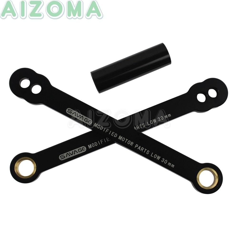 Aluminiowy CNC do motocykla regulowany z tyłu obniżenie linki zestaw zawieszenia dla honda CBR600RR 2003-2006 CBR1000RR 2004-2007