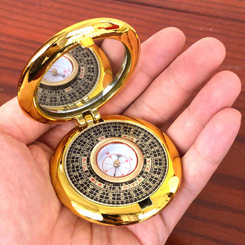Portable Feng Shui Compass Luo Pan LuoPan Tool Dowsing Rod Master Blessed Lucky Mascot Home Decoration Accessories Home Decor 1