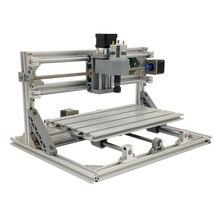 آلة حفر بالليزر صغيرة التصنيع باستخدام الحاسب الآلي آلة الحفر باستخدام الحاسب الآلي 3018 الليزر حفارة أدوات القطع GRBL 10 واط الليزر القاطع جهاز توجيه الخشب CNC3018 2in1 حفارة