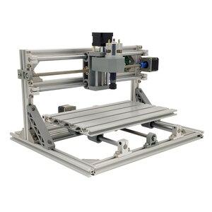 Image 1 - Mini Laser CNC Machine de gravure CNC 3018 Laser graveur outils de découpe GRBL 10W Laser Cutter bois routeur CNC 3018 2in1 graveur