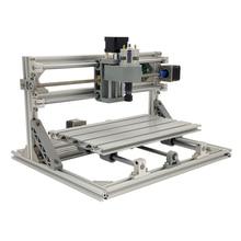 Mini lazer CNC oyma makinesi CNC 3018 lazer gravür kesme aletleri GRBL 10W lazer kesici ahşap yönlendirici CNC3018 2in1 gravür