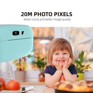 Image 4 - 1080P Instant Snap Print Kids Mini Camera Video Vlog Digital Camcorder 2.0 Inch HD Screen Photography Videocamera Children Gift