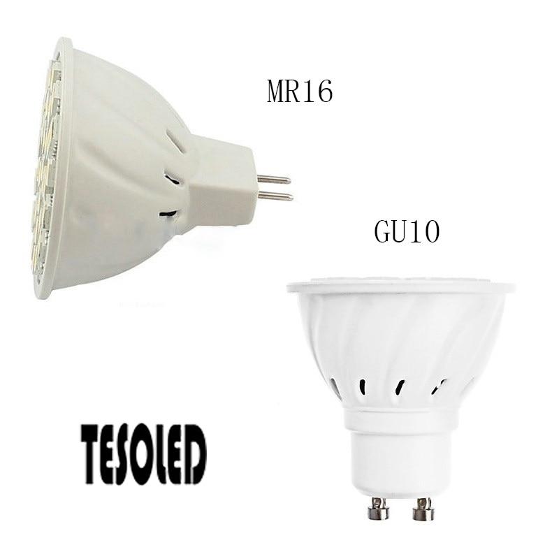 Led-Bulbs Dimmable Gu10/mr16-Interface DC12V Led-Spotlight White 5W 1pc