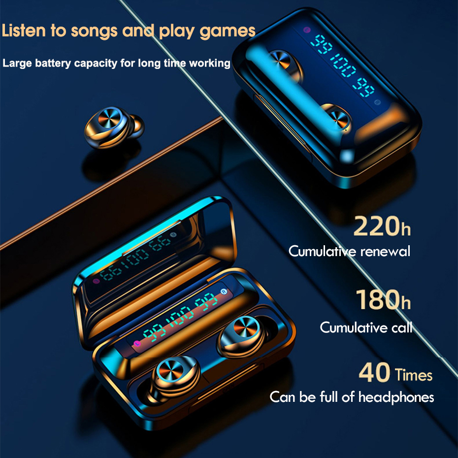 lowest price TWS ecouteurs Blutooth Wireless Earphones Sports Bluetooth Earbuds Ear Phone Buds Noise Canceling HeadPhones with Microphone